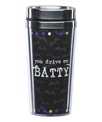 'You Drive Me Batty' Travel Mug