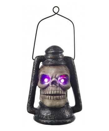 Light-Up Shrieking Skull Lantern