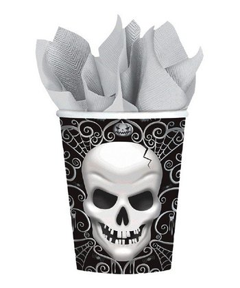 CUP 9OZ MD CT FRIGHT NIGHT (1 PKG / 18) -