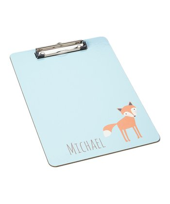 Boy Fox Clipboard