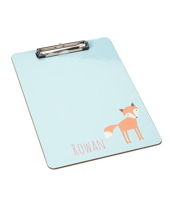 Girl Fox Clipboard