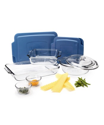10-Piece Glass Baking Container Set