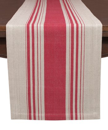 Red Cote Table Runner