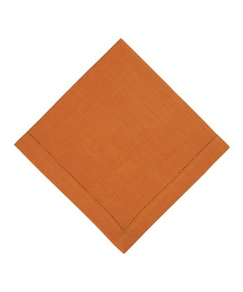 Rust Rustic Napkin - Set of Four