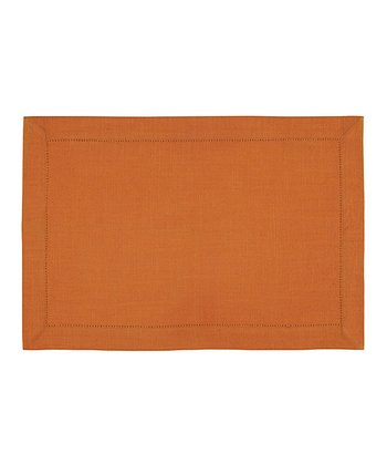 Rust Rustic Place Mat - Set of Four