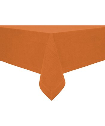 Rust Rustic Tablecloth