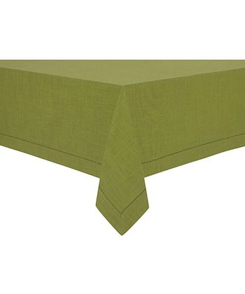 Olive Rustic Tablecloth