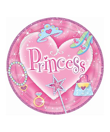 PRINCESS 7I PRISMATIC PLATE Set of 8
