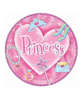 PRINCESS 9I PRISMATIC PLATE Set of 8