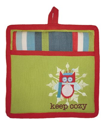 Keep Cozy Pocket Pot Holder & Dish Towel