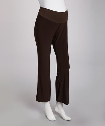 Brown Maternity Pants