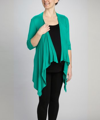 Emerald Maternity & Nursing Layered Top