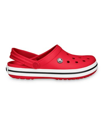 Red Crocband™ Clog - Men & Women
