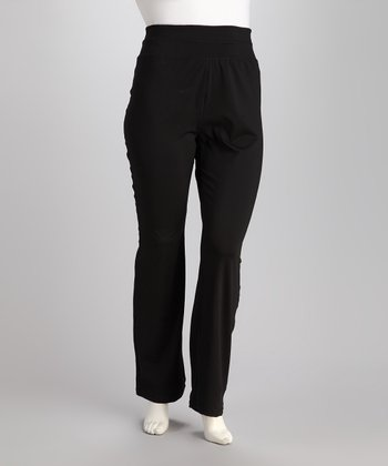 Black Plus-Size Lounge Pants