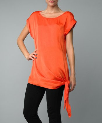 Mango Side-Tie Top