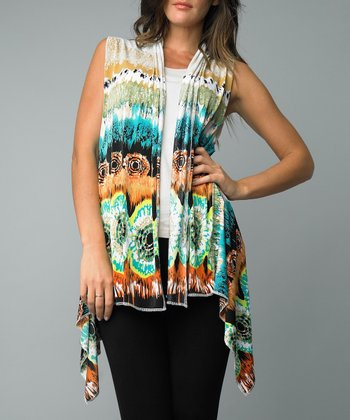 Natural Exotic Sidetail Vest