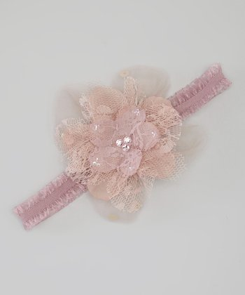 Mauve Bella Headband