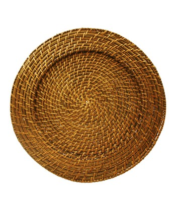 Harvest Rattan Charger - Set of Four