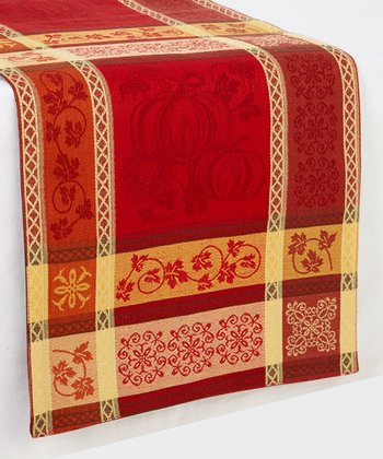 Jacquard Thanksgiving Harvest Table Runner