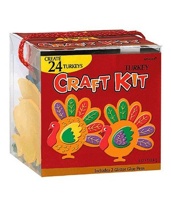 CRAFT KIT TURKEY THNKGVNG