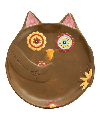 Brown Owl Snack Plate