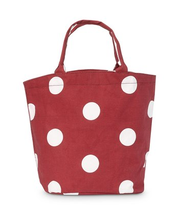 Red Team Dot Bettie Tote Bag