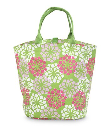 Green Handles Everdeen Bettie Tote Bag