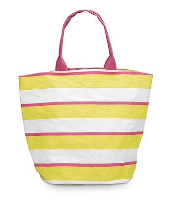 Yellow & Pink Chesapeake Bettie Tote Bag