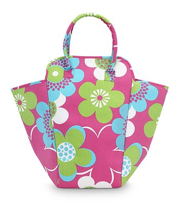 Pink Bloom-a-Licious EVA Hamper Tote