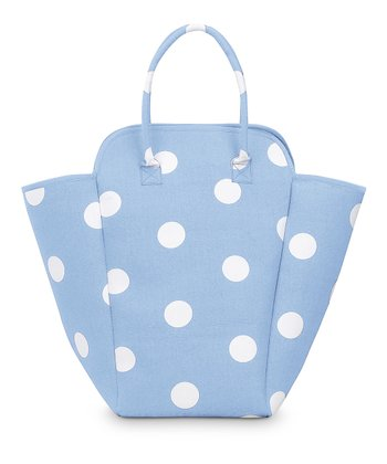 Light Blue Team Dot EVA Hamper Tote