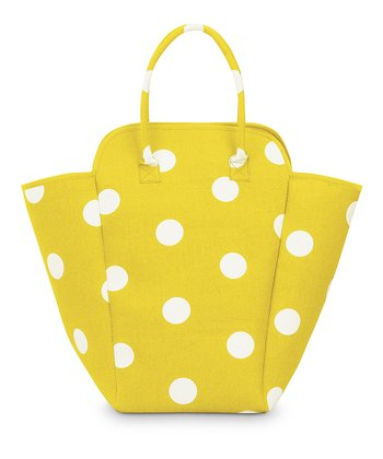 Yellow Team Dot EVA Hamper Tote
