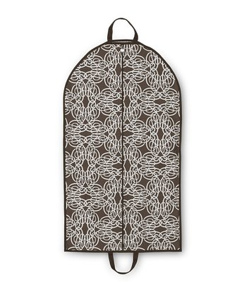 Brown Classic Curl Garment Bag