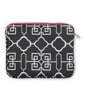 Black Lattice Cover for iPad