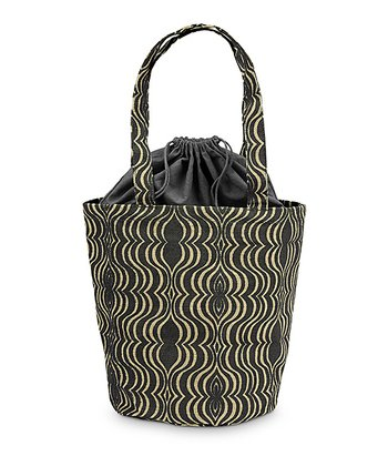 Black & Natural Jute Hampton Bag