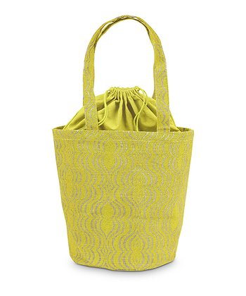 Yellow & Natural Jute Hampton Bag