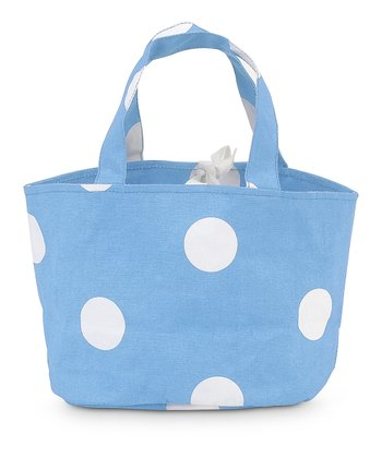 Light Blue Team Dot Little Bettie Bag
