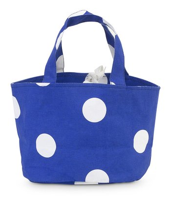 Royal Blue Team Dot Little Bettie Bag
