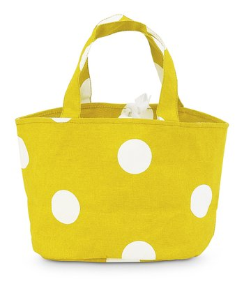 Yellow Team Dot Little Bettie Bag