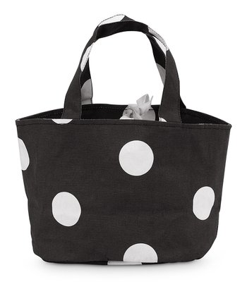 Black Team Dot Little Bettie Bag