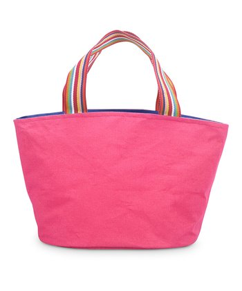 Pink & Navy Color Block Little Bettie Bag