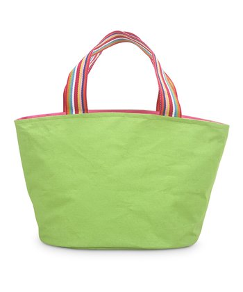 Green & Pink Color Block Little Bettie Bag