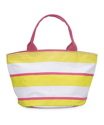 Yellow & Pink Chesapeake Little Bettie Bag