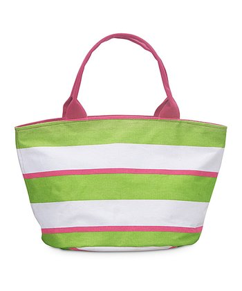 Green & Pink Chesapeake Little Bettie Bag
