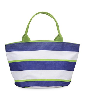 Navy & Green Chesapeake Little Bettie Bag