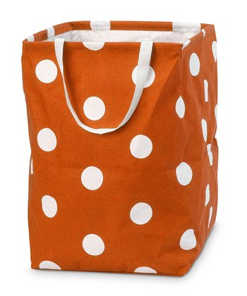 Orange Team Dot Large Crunch Bag