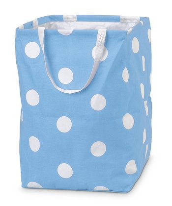 Light Blue Team Dot Large Crunch Bag