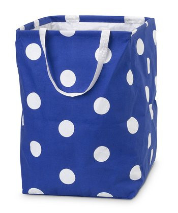 Royal Blue Team Dot Large Crunch Bag