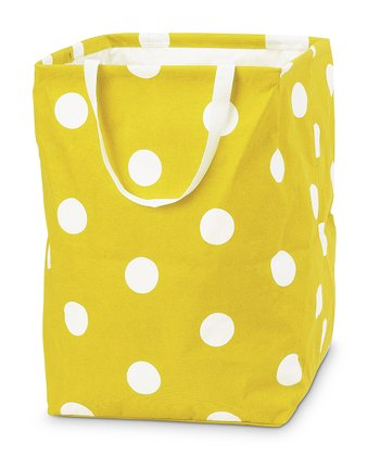 Yellow Team Dot Large Crunch Bag