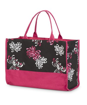Flower Works Side Pocket Lot Tote