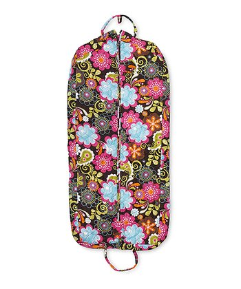 Pretty Paisley Quilted Garment Bag